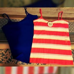 The Perfect Cami.. BUILT IN BRA Tank Tops..